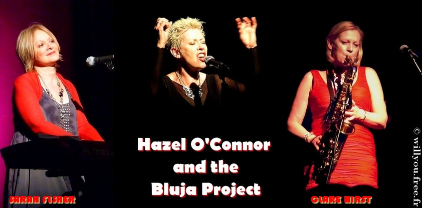 Hazel O'Connor, Clare Hirst & Sarah Fisher