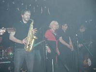 Hazel O' Connor and the subs at The Escape Coventry Dec 2008