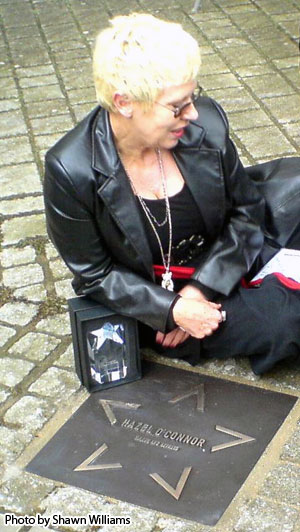Hazel O'Connor - Coventry's Walk of Fame