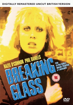 Breaking Glass DVD Digitally remastered uncut British version Hazel O'Connor 2012