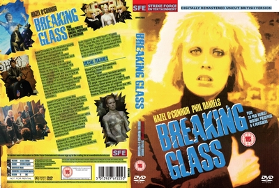 Hazel O'Connor Breaking Glass 2012 DVD sleave