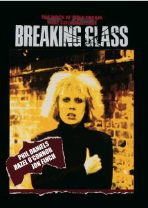 Hazel O'Connor Breaking Glass US cut version 2011 DVD sleave