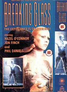 Hazel O'Connor Breaking Glass VHS Sleeve