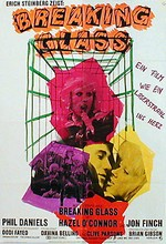 Hazel O'Connor Breaking Glass Movie Poster Germany