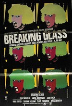 Hazel O'Connor Breaking Glass Movie Poster Sweden