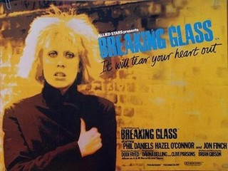 Hazel O'Connor Breaking Glass movie poster 1