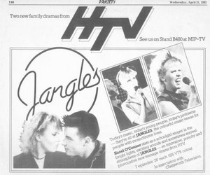 Advertisement for Jangles in the Trade Paper Variety