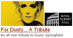 Dusty Springfield Hazel O'Connor The Royal Albert Hall