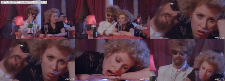 Eurythmics - Who's That Girl - Video features appearances by Hazel O'Connor - 1983