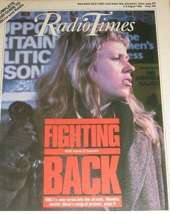 Hazel O'Connor - Fighting Back - BBC1 serie 1986