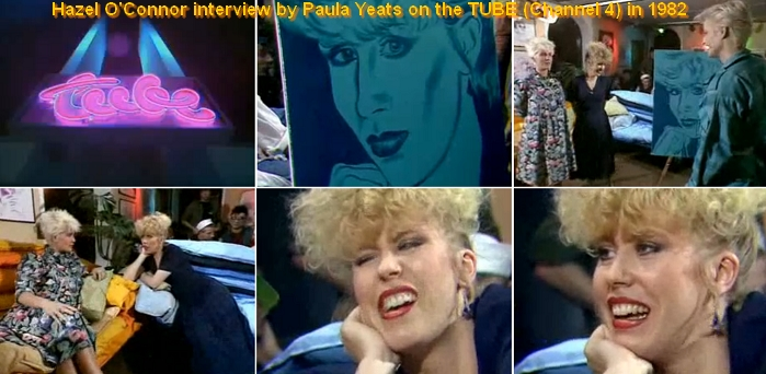 Hazel O'Connor interviewed by Paula Yates - 1982