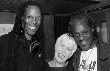 Ranking Roger, Hazel O'Connor and Nev Staple