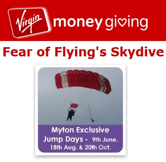 HAZEL NUTS SUPPORTING MYTON HOSPICE - Fear Of Flying s Skydive