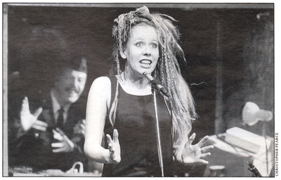 Hazel O'Connor in Nightshoot - The Tricycle Theatre - London 1983-84