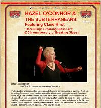Hazel O'Connor and The Subterraneans